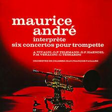 CD Maurice André interprète six concertos pour trompette