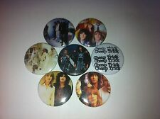 7 Cheap Trick Button badges 25mm Surrender The Flame Dream Police Motley Crue