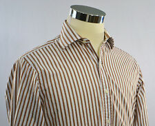 "T.M. LEWIN Men's ""Luxury"" Regular Fit French Cuff Dress Shirt SIZE 15.5 (33)"