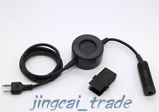 Z-Tactical Headset Round PTT Cable for ICOM COBRA VERTEX 2-Pin Radio