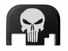 Tactical Skull Design Slide Cover Plate for Glock by Fixxxer LLC. Fits Most Mods