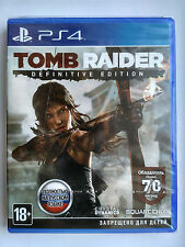 Tomb Raider: Definitive Edition Playstation 4 PS4 PAL Brand New Factory Sealed