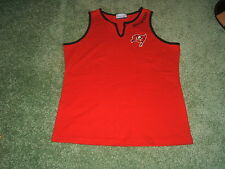 Woman's Rebok Tampa Bay Buccaneers Tank Top Sz Lg New W/O Tags NICE 36 In Chest