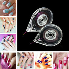 Cute Nail Art Striping Tape Line Case Tool Simple Cool Sticker Box Holder FT88