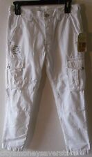 NWT True Religion Mens Special Ops Cargo Pants 31 Optic White MSRP$188