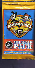 1995 Animaniacs Milkcap Pack Pogs & WPF KINI Unopened Pack from Box!