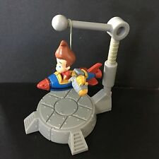 Jimmy Neutron Rocketship toy approx. 2.5- 3.5 in AS IS loose