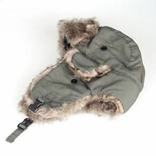 Men Women Winter Trapper Aviator Trooper Earflap Warm Russian Ski Hat Fur Bomber