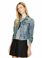 Talula Aritzia Vintage Denim Jean Long Sleeve Jacket Medium Wash, Sz L