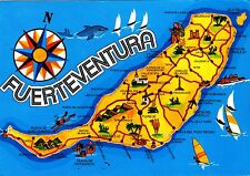 Fuerteventura , Ansichtskarte , gelaufen