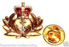 Royal Naval / Navy Officer Lapel Pin Badge