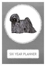 Puli Dog Show Six Year Planner/Diary by Curiosity Crafts 2017-2022