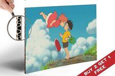 PONYO & SOSUKE POSTER * Best Scene Miyazaki Animation Movie A4 GLOSSY PICTURE