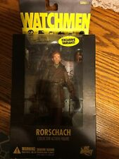 DC DIRECT WATCHMEN RORSCHACH UNMASKED MOVIE TOYS R US EXCLUSIVE VARIANT FIGURE