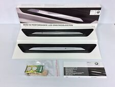 BMW M Performance Illuminated Door Sill Covers 51472359786, 51 47 2 359 786