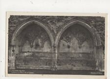 Kirkham Priory Lavatories On West Side of Cloister RP Postcard 581a
