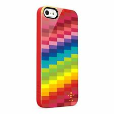 Belkin iPhone 5S/5/SE Shield Pixel Case/Cover/Skin Red Blue Green Purple Yellow