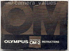 Olympus OM-2n Camera Manual & Short Guide. More OM2n Instruction Books Listed