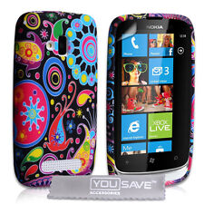 Accessories For The Nokia Lumia 610 Jellyfish Silicone Gel Case Cover UK & Film