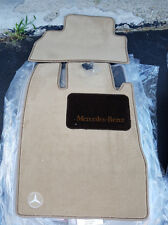 Mercedes-Benz S Class W220 OEM floor mats New S320 S430 S500 SWB color Shell
