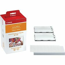 "CANON SELPHY RP-108IP ORIGINAL INK AND 108 SHEETS OF 6"" x 4"" PAPER  - 8568B001AA"