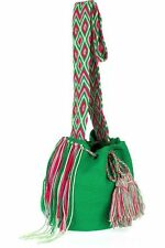 Wayuu Taya  Mochilla knitted cotton cross-body bag Susu Net-A-Porter NWOT $175