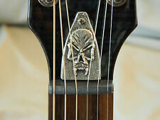 SKULL TRUSS ROD COVER FITS SCHECTER tempest c-1 omen devil guitar HAND MADE!
