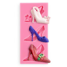 Sexy High Heel Chocolate Mold Silicone Wedding Cake Fondant Sugar Jelly Moulds