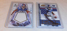 2- MARIO MANNINGHAM CARD LOT MAKE OFFER ON ONE OR MORE CARDS NEW YORK GIANTS
