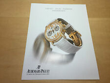 Booklet AUDEMARS PIGUET - Ladies' Jules Audemars Chronograph - English