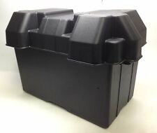 Marine Boat Gp 27 Larger Battery Box Reinforced Polyethylene W/ Webbing Strap
