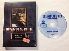 *NICE* Dream-Plan-Build - Railroads and Steel (DVD) 73105D Industries in Action