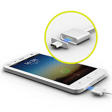 Wsken 2.4A Micro USB Charging Cable Magnetic Adapter Charger for Android Tablet