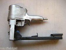 "Used Pneumatic Stick Stapler, 5⁄8""&3⁄4"", Industrial quality, one hand operation"