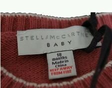 Stella McCartney Baby Knitted Peach Salmon Cream All In One 18 Months BNWT