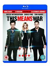 This Means War [Blu-ray] [Region Free]  Brand new and sealed