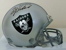 "Jay Schroeder Oakland Mini Helmet ""Go Raiders"" Inscription Direct From His Agent"