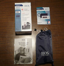 BIOS A9 BLOOD PRESSURE KIT SPHYGMOMANOMETER by THERMOR LAST READING MEMORY