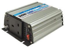 150W Main to Car Power Inverter 230V AC - 12V DC With USB Port