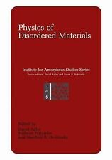 Institute for Amorphous Studies: Physics of Disordered Materials (2011,...