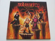 SOLEMNITY Shockwave of Steel.. 2005 ...BLUE Vinyl:mint / Cover:mint(-) TOP
