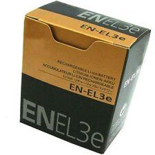 High quality New Battery For NIKON EN-EL3E ENEL3E D80 D200 D300