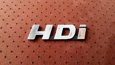 LOGO HDI Badge Citroen PEUGEOT 306 405 406 207 307 307 308 407 408 Boxer Jumper