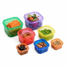Meal Prep 21 Day Fix Additional Portion Control 7 Piece Container Kit BPA-Free