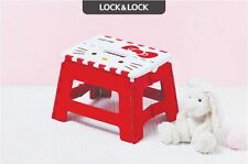 Lock & Lock Cute Hello Kitty Folding Chair Kids Picnic Outdoor Convenient Easy