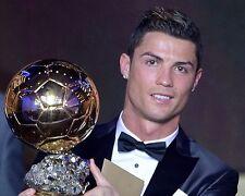 Cristiano Ronaldo Ballon d'Or 10x8 Photo
