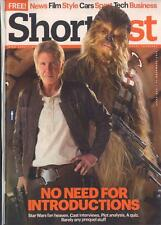 Star Wars HARRISON FORD Han Solo PHOTO COVER SHORTLIST MAGAZINE December 2015