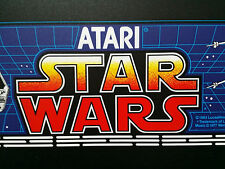 STAR WARS marquee screen printed from the original ATARI films EXCLUSIVE!