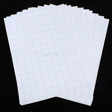 10pcs T-Shirt Iron-On Print Heat Transfer Paper Sheets For Dark Light Cloth Hot