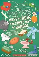 Top Ten Ways To Ruin The First Day Of School (Apple (Scholastic))-ExLibrary